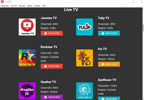 thoptv pro latest comedy shows apk for android